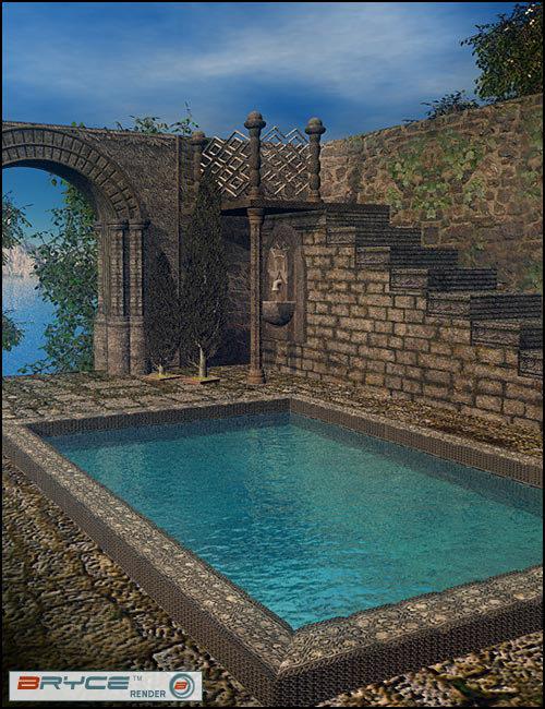 Medieval Garden by: Nouschka Design, 3D Models by Daz 3D