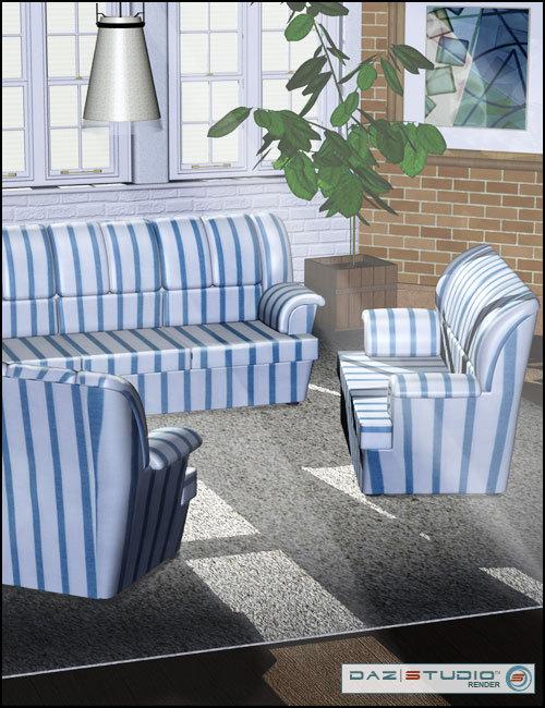 Modern Furniture 1 by: , 3D Models by Daz 3D