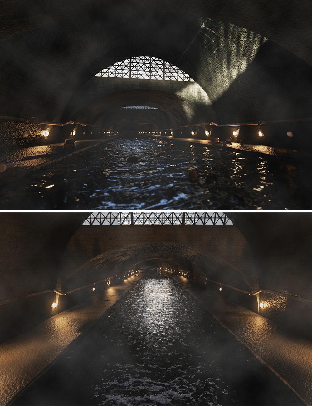 Sheffield Sewer by: PerspectX, 3D Models by Daz 3D