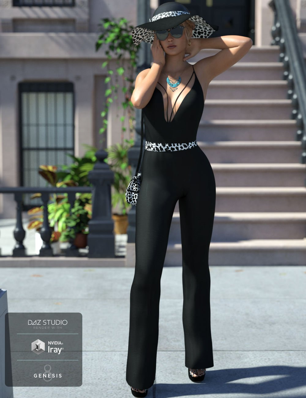 Sophisticated Jeni Outfit for Genesis 8 Female(s) by: WildDesigns, 3D Models by Daz 3D