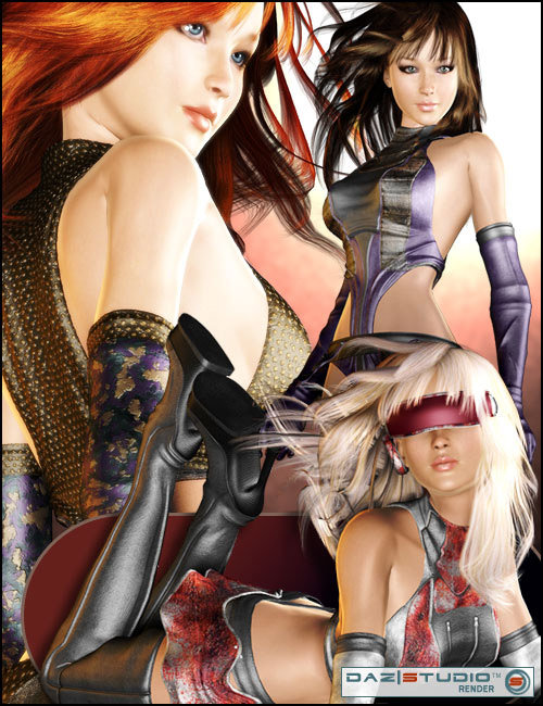 Shinsekai by: Barbara Brundonoutoftouch, 3D Models by Daz 3D