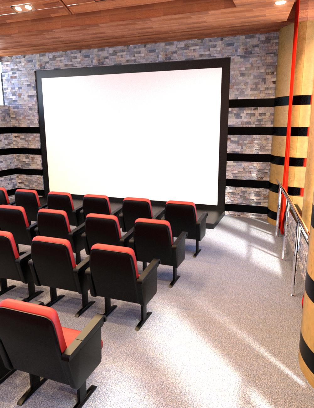 Presentation Room by: Tesla3dCorp, 3D Models by Daz 3D