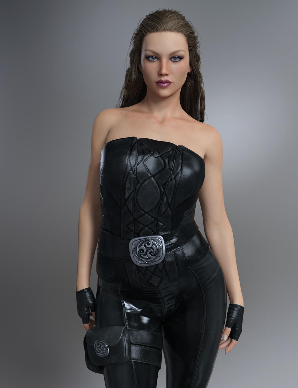 FWSA Sharah HD for Olympia 8 by: Fred Winkler ArtSabby, 3D Models by Daz 3D