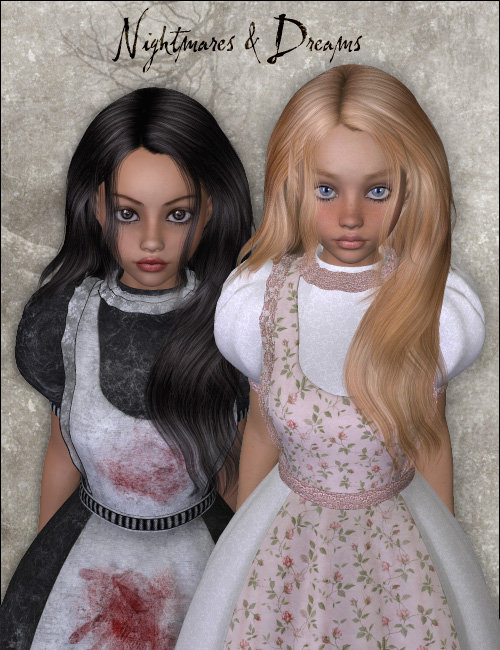 Nightmares & Dreams by: Anna BenjaminSarsa, 3D Models by Daz 3D