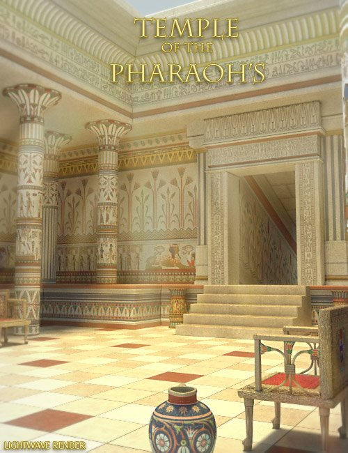Temple of the Pharaohs by: , 3D Models by Daz 3D