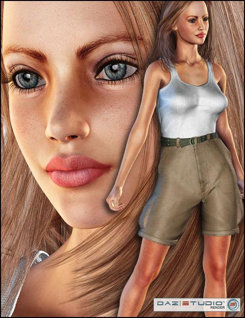 Tisa's Weekend Adventure - V3 by: the3dwizardThorneSarsa, 3D Models by Daz 3D