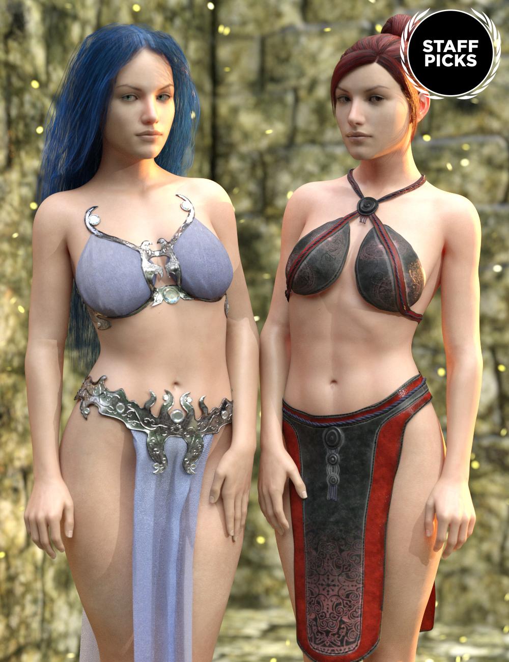 SY Fantasy Wear Megapack Genesis 8 Female(s) by: , 3D Models by Daz 3D