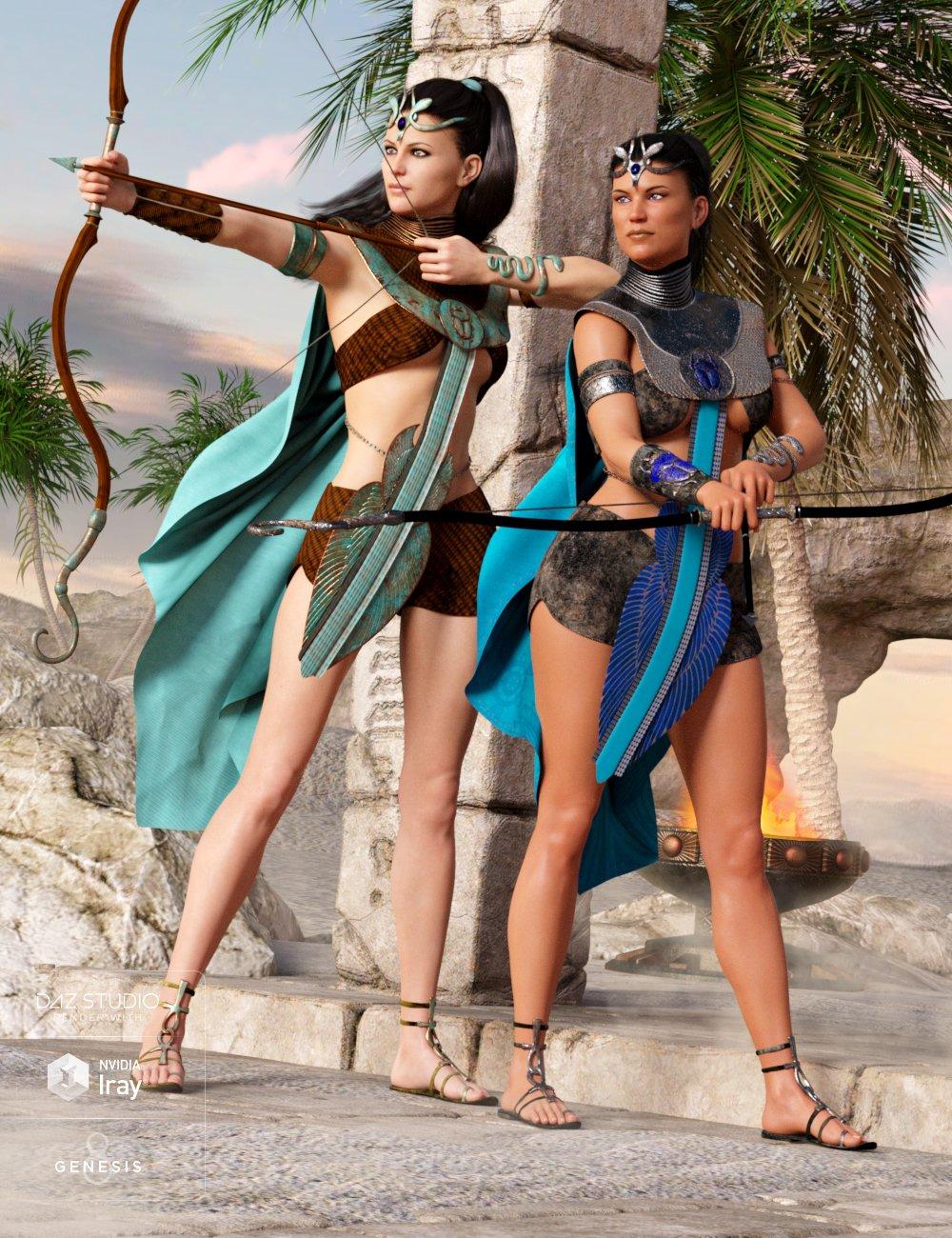 Desert Watcher Outfit Textures by: Anna Benjamin, 3D Models by Daz 3D