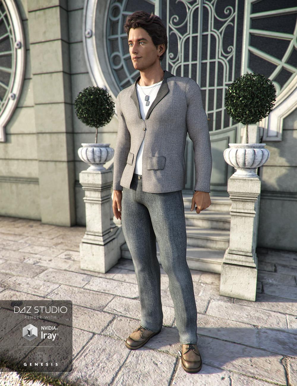 Chill Wear for Genesis 3 Male(s) by: , 3D Models by Daz 3D