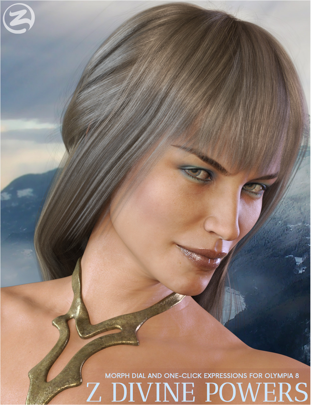 Z Divine Powers - Dialable and One-Click Expressions for Olympia 8 by: Zeddicuss, 3D Models by Daz 3D