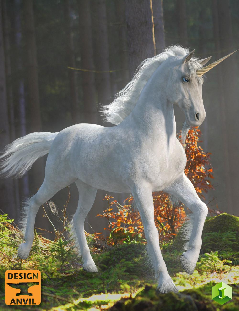 DA Unicorn for Daz Horse 2 by: Design Anvil, 3D Models by Daz 3D