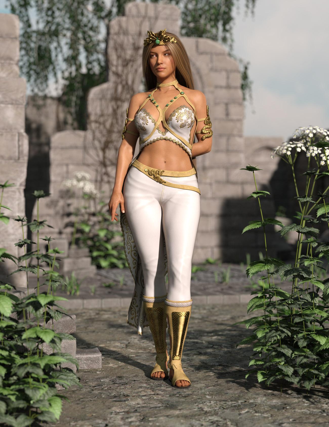 Febe Outfit for Genesis 8 Female(s) by: AmaranthPixelTizzyFit, 3D Models by Daz 3D