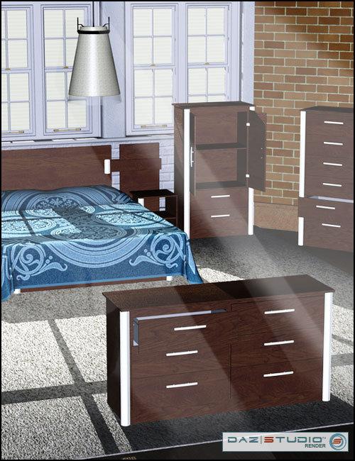 Modern Furniture 3 by: , 3D Models by Daz 3D