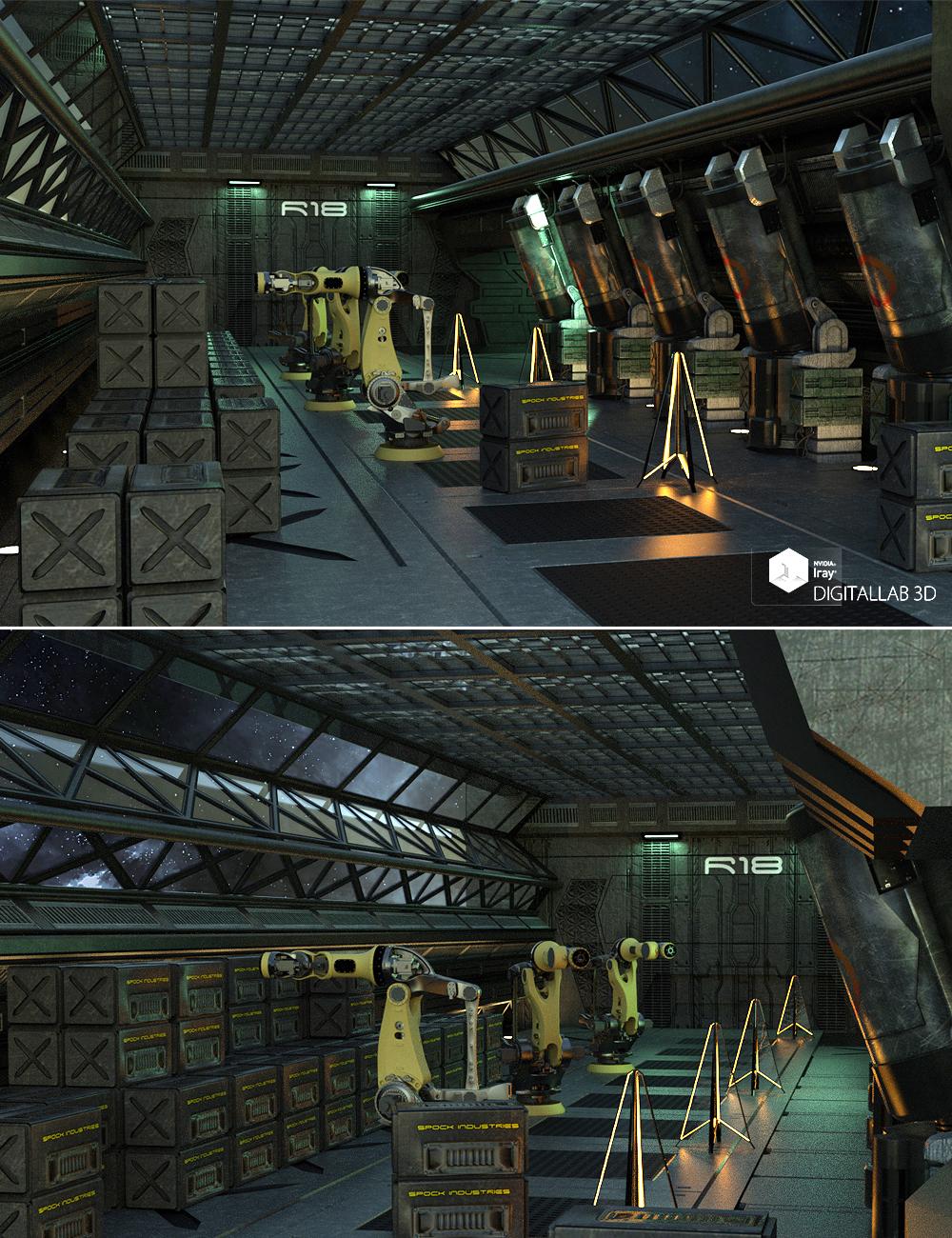 Reactor Room by: Digitallab3D, 3D Models by Daz 3D