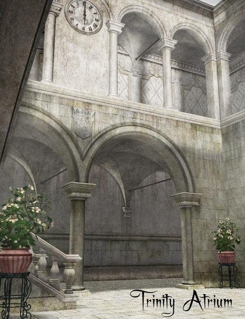 Trinity Atrium by: , 3D Models by Daz 3D