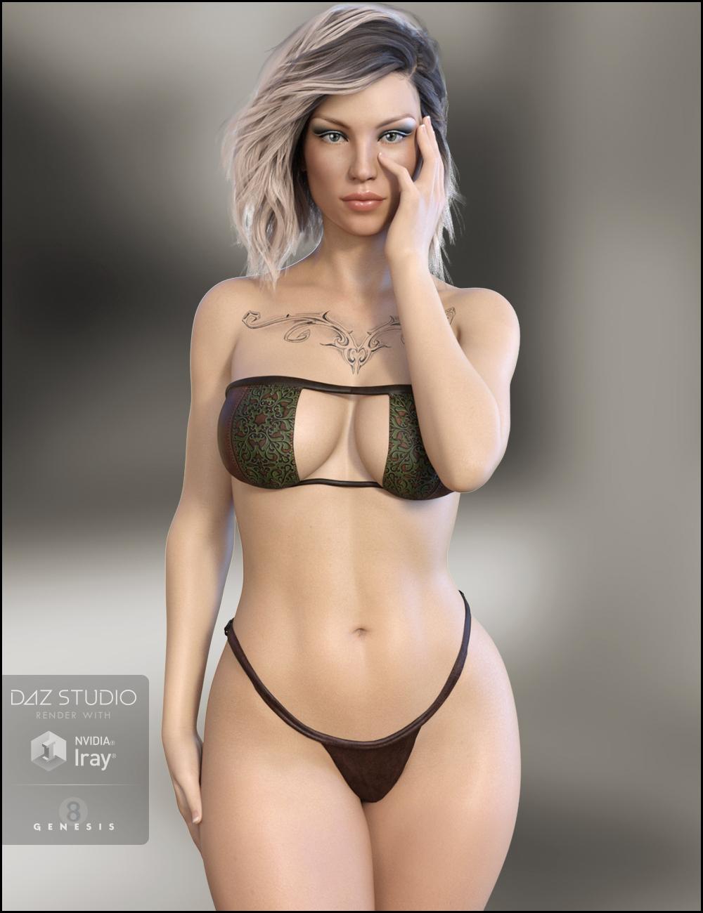 Phoebe for Olympia 8 by: RazielJessaii, 3D Models by Daz 3D