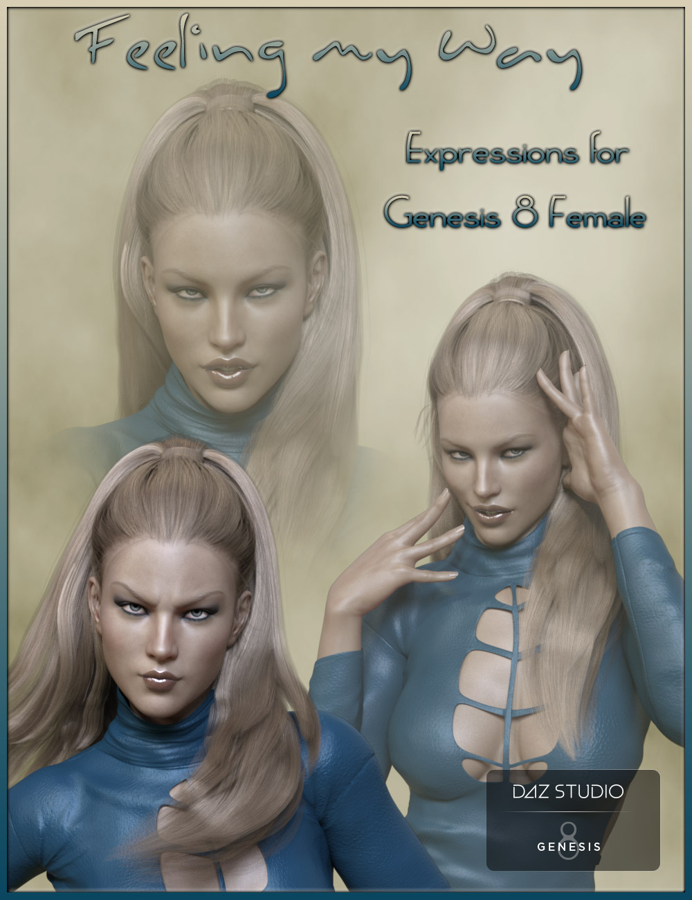 Feeling My Way - Expressions for Genesis 8 Female by: ilona, 3D Models by Daz 3D
