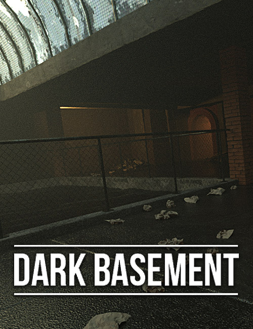 Dark Basement by: powerage, 3D Models by Daz 3D