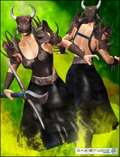 Dark Paladins for She-Freak 2 by: LesthatVal3dart, 3D Models by Daz 3D