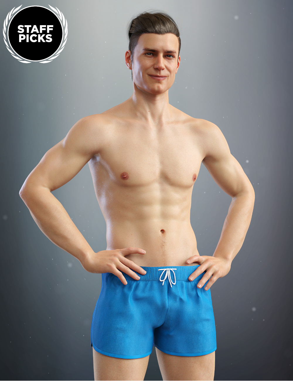 Michael 8 by: , 3D Models by Daz 3D