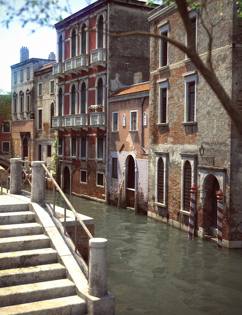 The Streets Of Venice by: Stonemason, 3D Models by Daz 3D