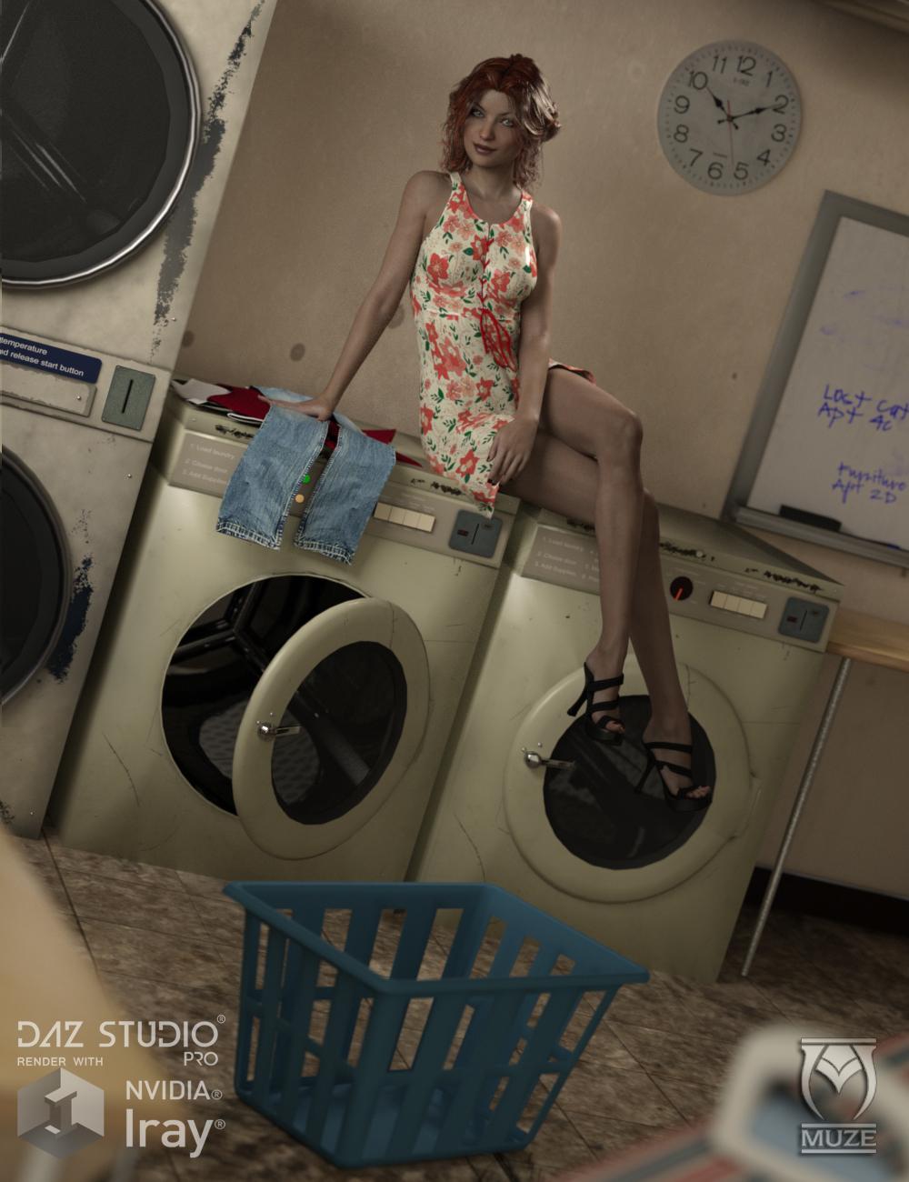 Basement Laundry by: Muze, 3D Models by Daz 3D