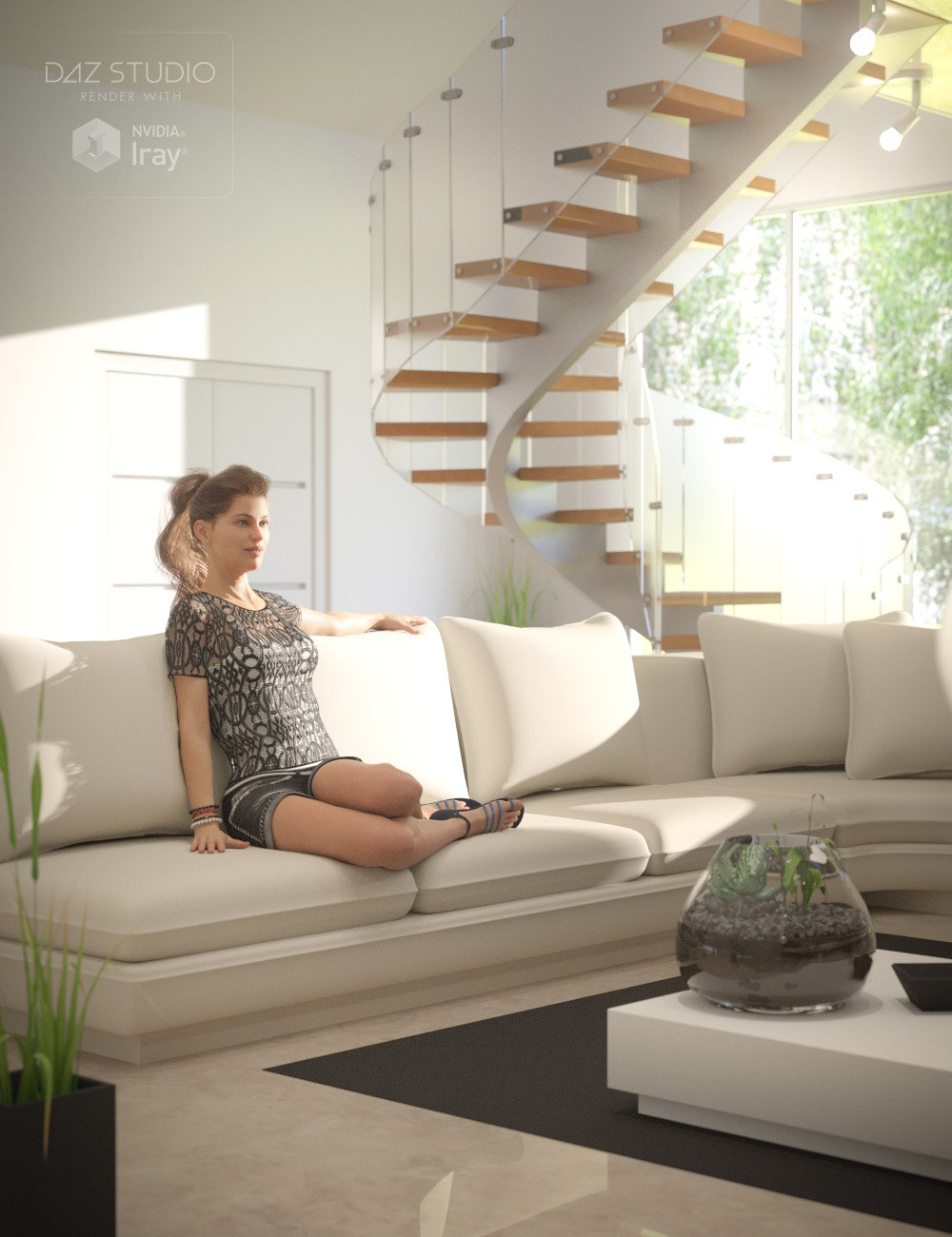 Upscale Apartment by: Val3dart, 3D Models by Daz 3D