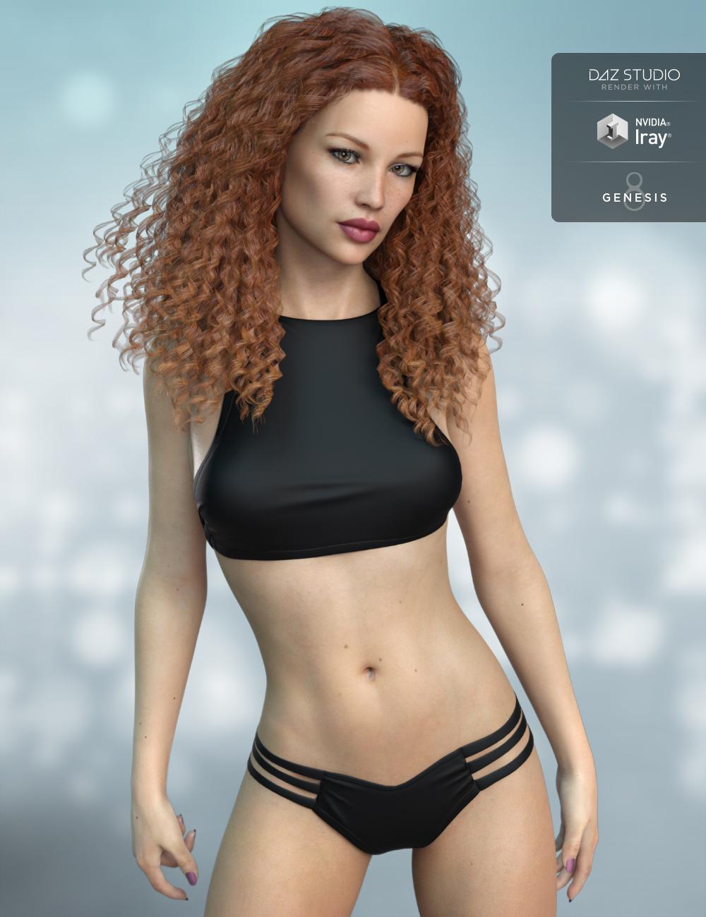 FWSA Rose HD for Victoria 8 by: Fred Winkler ArtSabby, 3D Models by Daz 3D