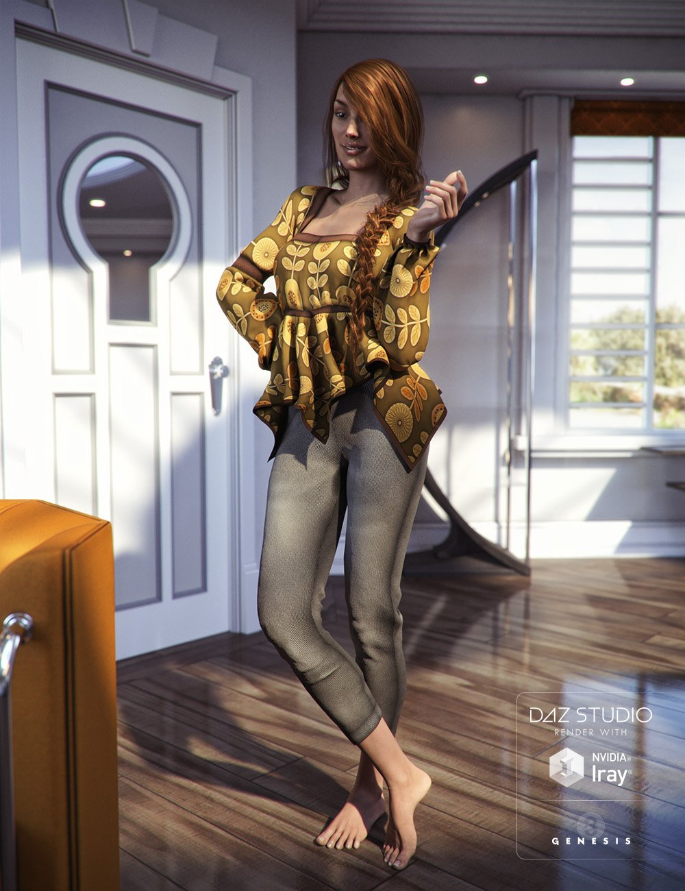Fall Trends for Genesis 3 Female(s) by: Aave Nainen, 3D Models by Daz 3D