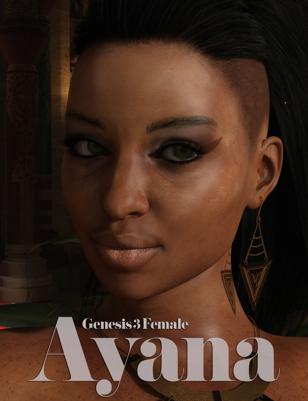 Ayana for Genesis 3 Female by: iSourceTextures, 3D Models by Daz 3D