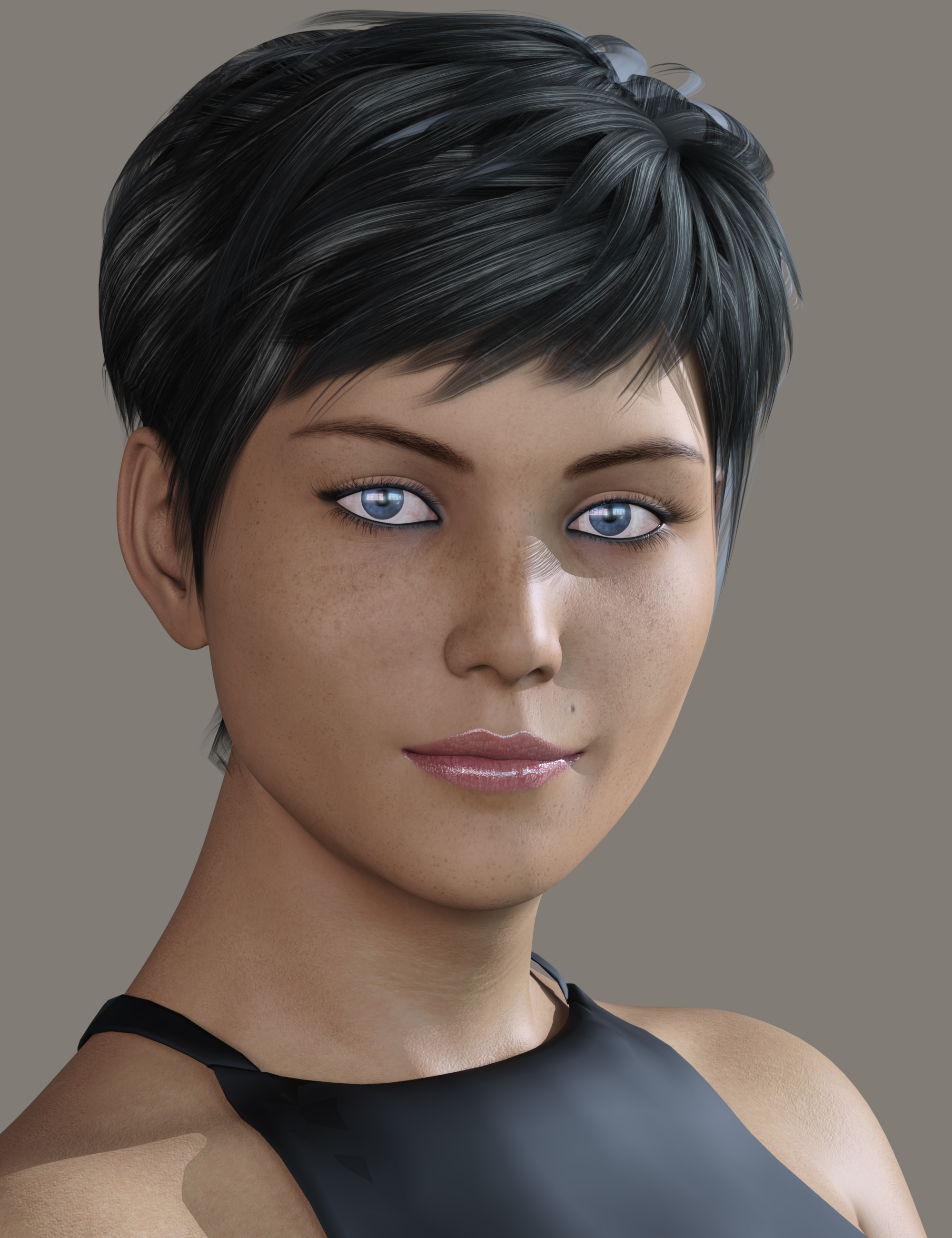 DE Deanna for Genesis 8 Female by: Dark-Elf, 3D Models by Daz 3D