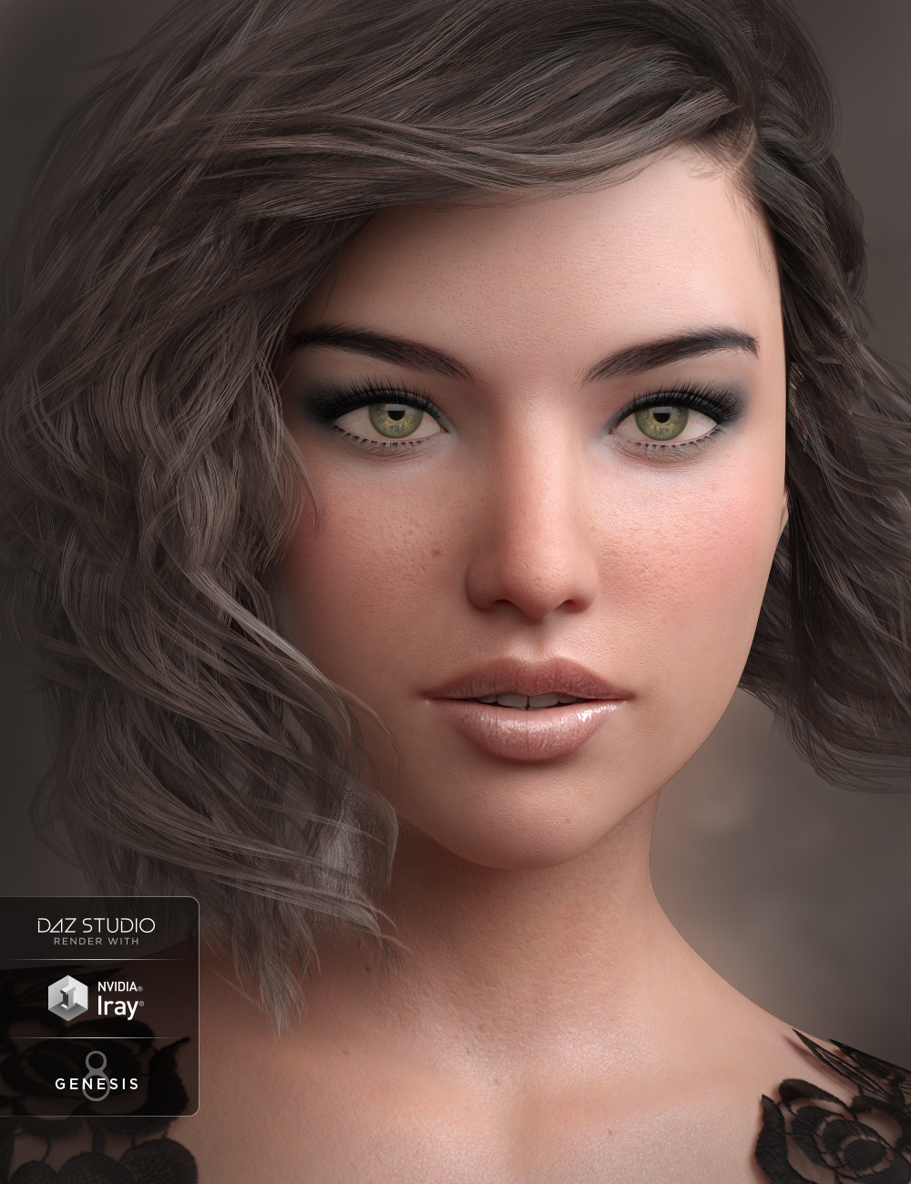 GDN Sarah for Genesis 8 Female by: Valery3D, 3D Models by Daz 3D