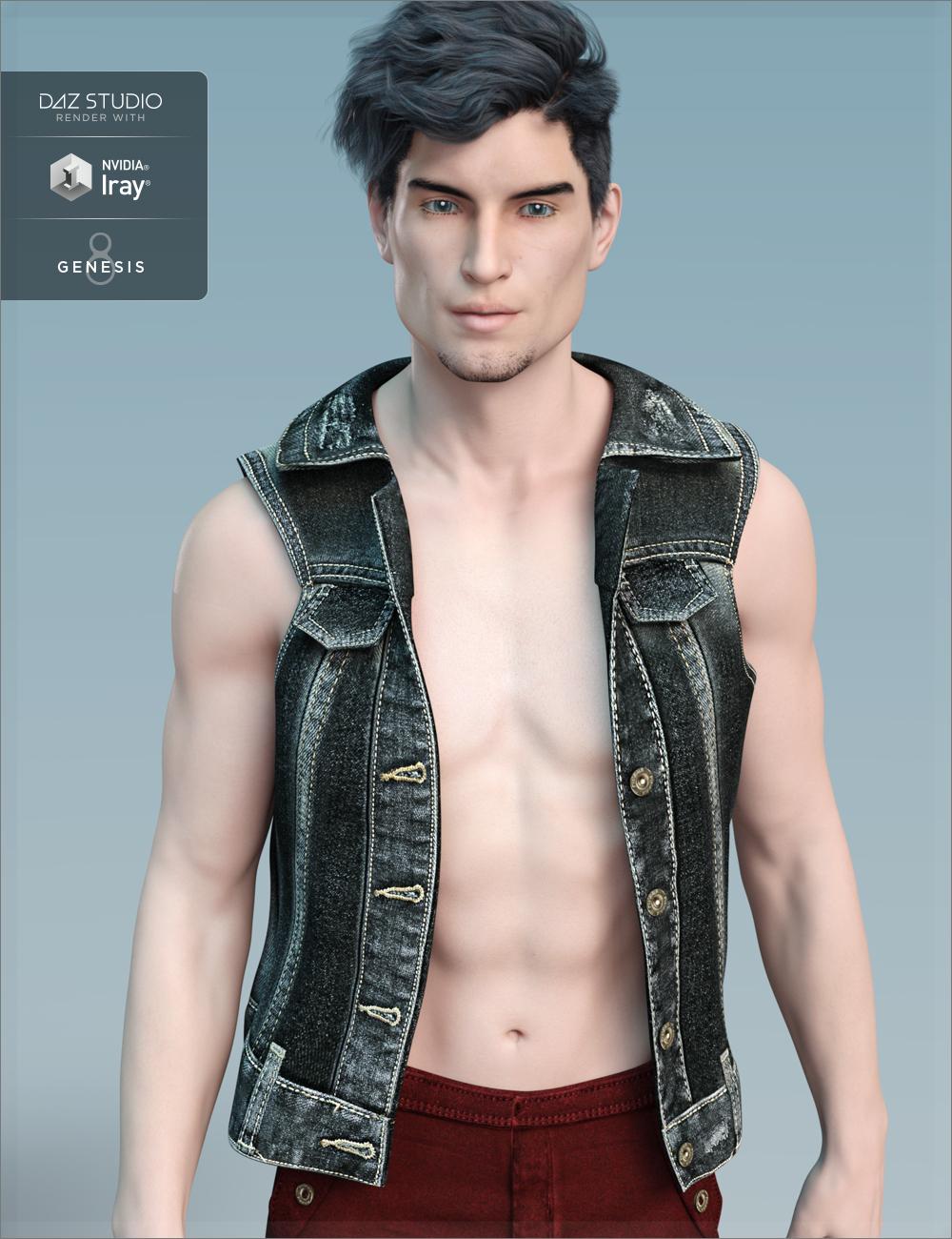 FW Quinton HD for Michael 8 by: Fred Winkler Art, 3D Models by Daz 3D