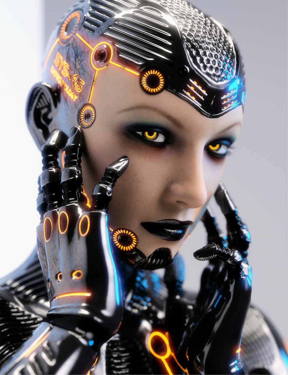 System 46 for Genesis 3 Female(s) by: daveyabbo, 3D Models by Daz 3D