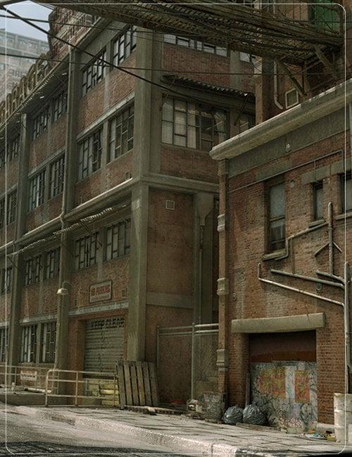 The Backstreets by: Stonemason, 3D Models by Daz 3D