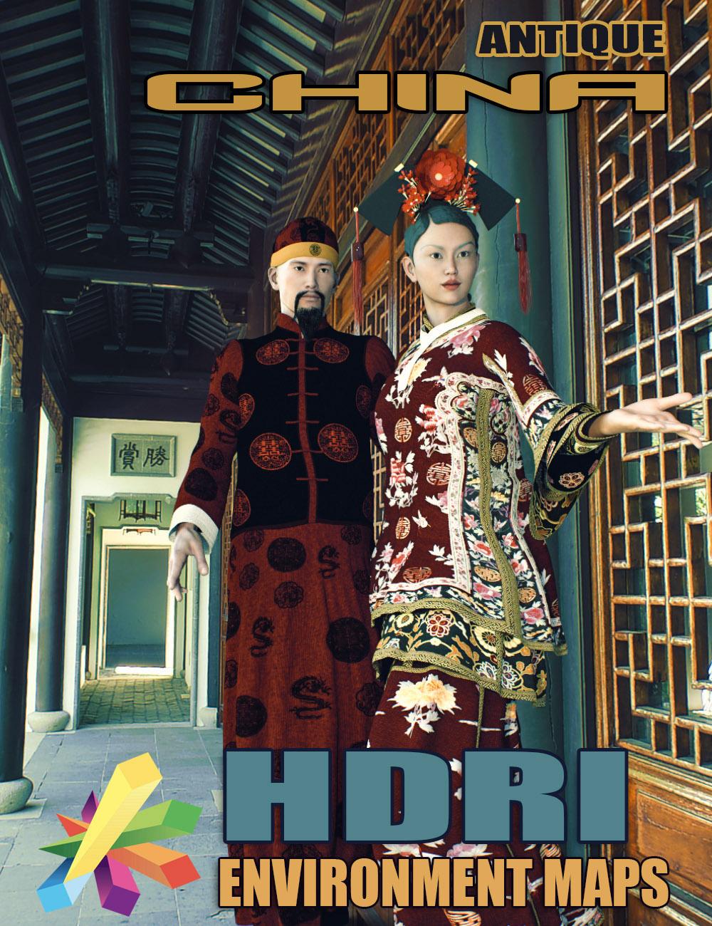 MEC4D HDRI Antique China Super-Megapack by: Mec4D, 3D Models by Daz 3D
