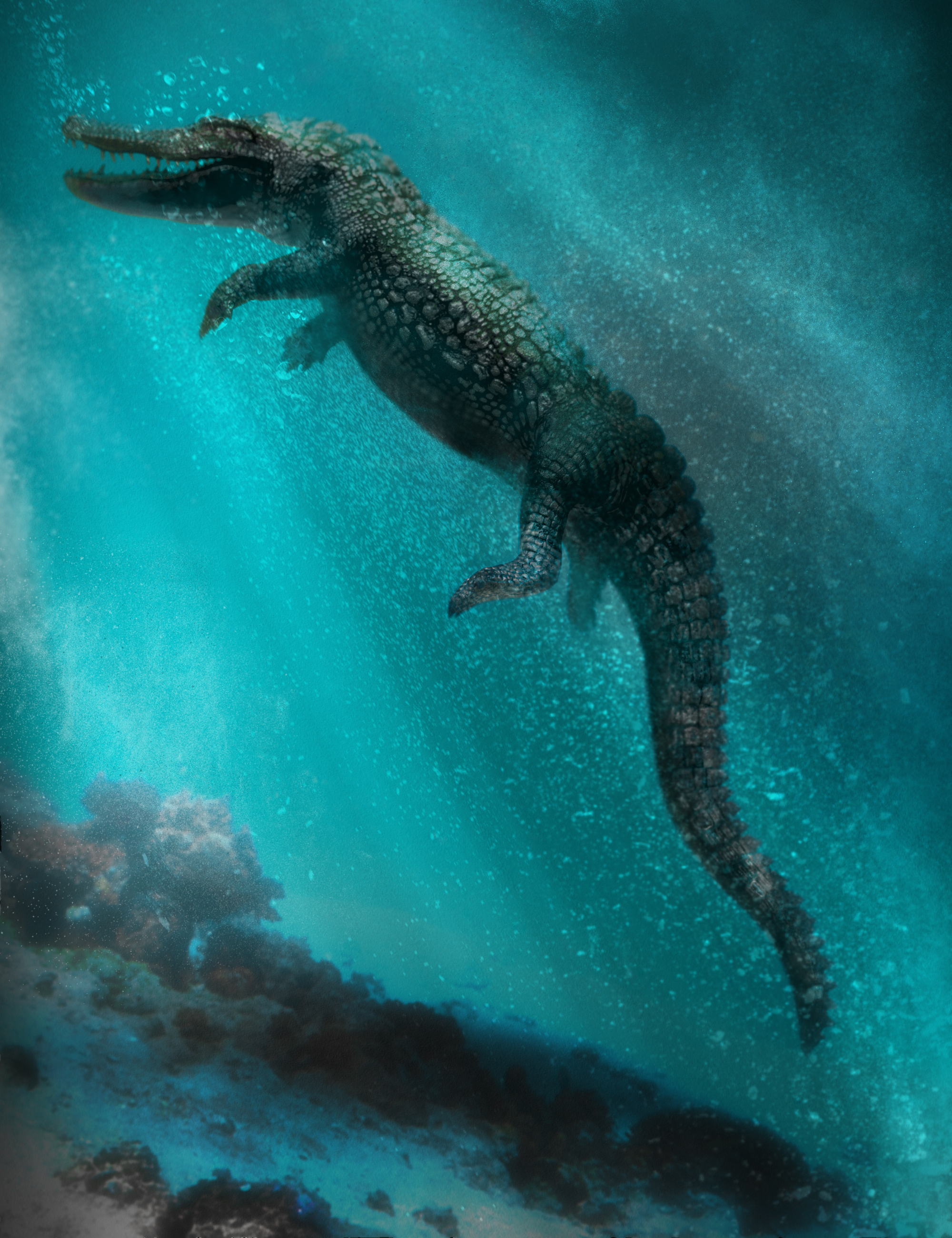 Iray Alligator by AM by: Alessandro_AM, 3D Models by Daz 3D