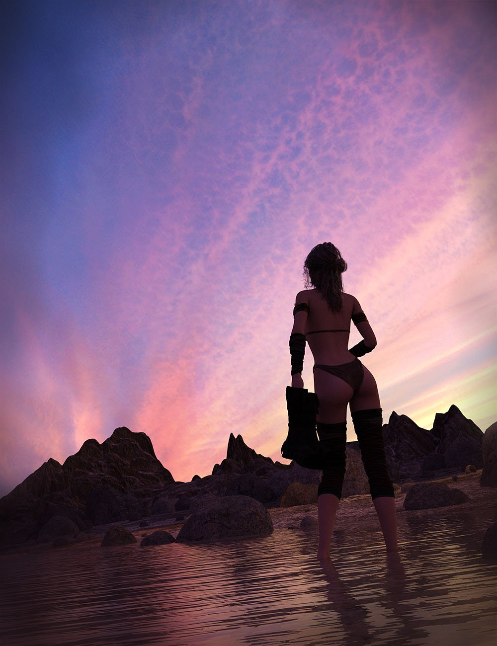 Orestes Iray HDRI Skydomes Vol 4 - Sunset by: Orestes Graphics, 3D Models by Daz 3D