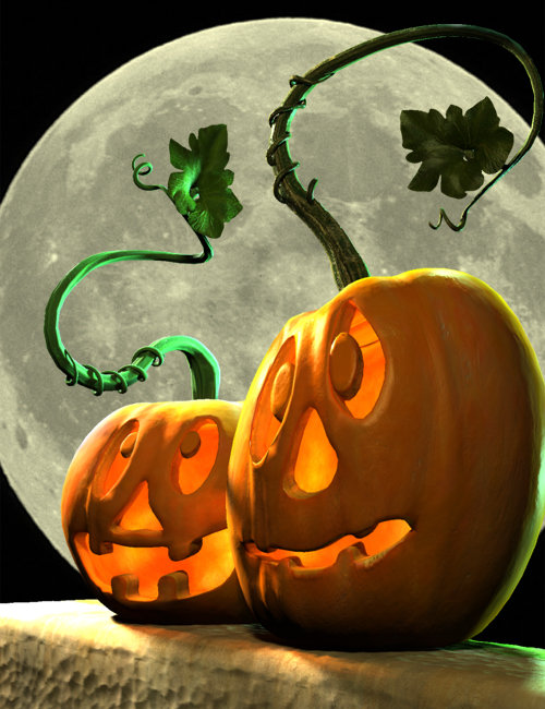 Ol' Lantern Jack by: SequestrianBradyDalton, 3D Models by Daz 3D