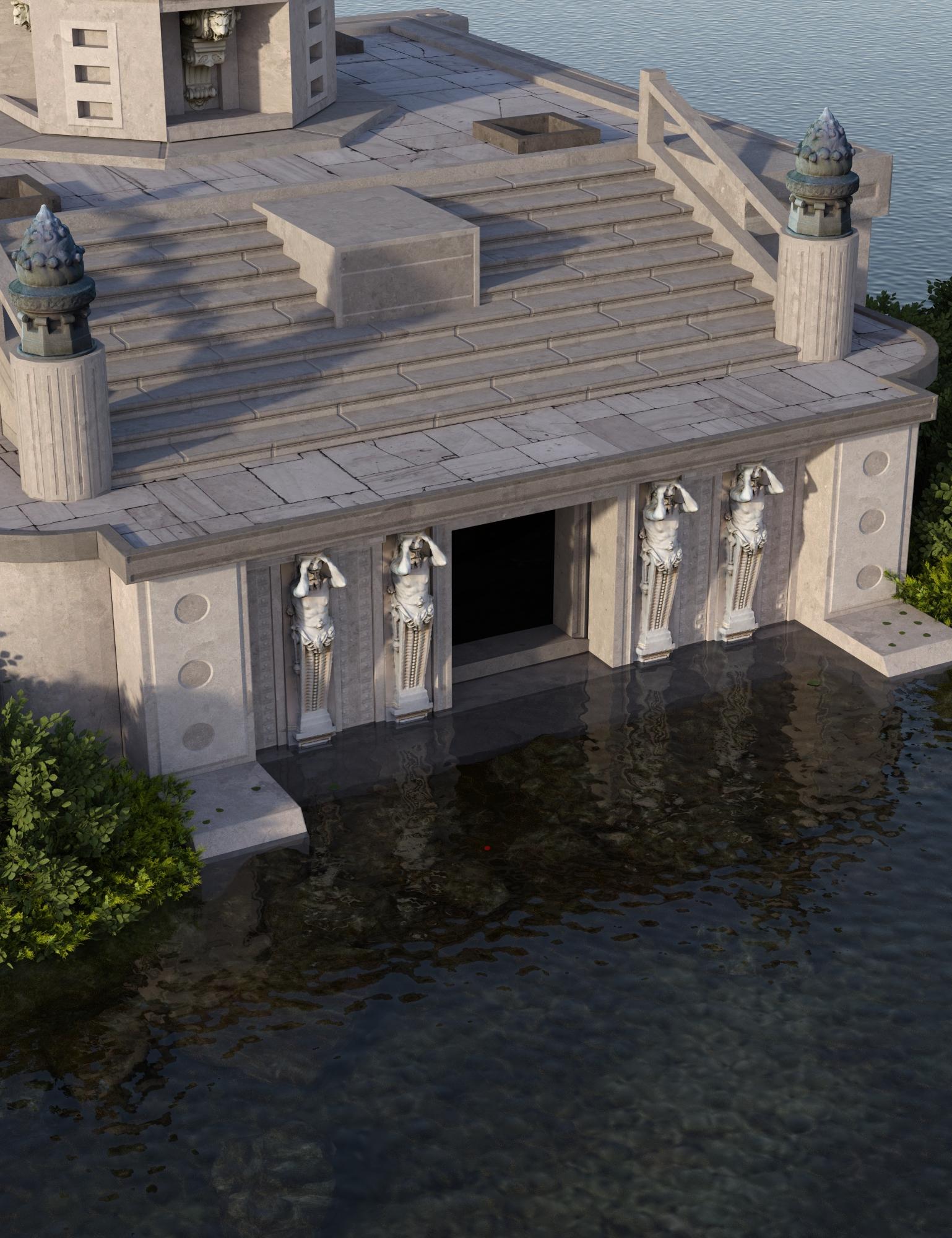The Isle of Mythos by: Oskarsson, 3D Models by Daz 3D