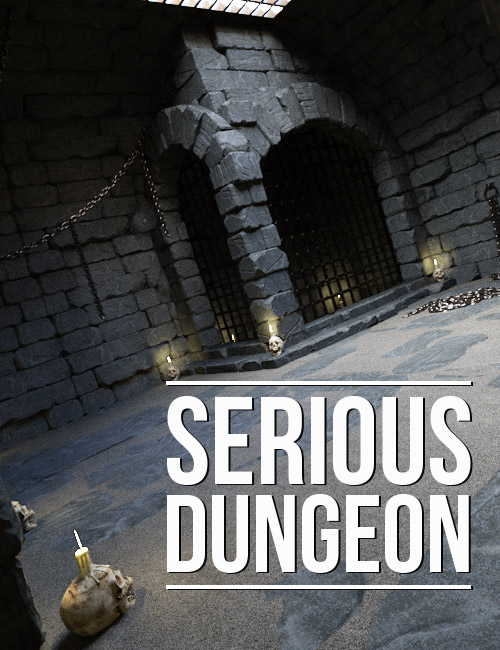 Serious Dungeon by: powerage, 3D Models by Daz 3D