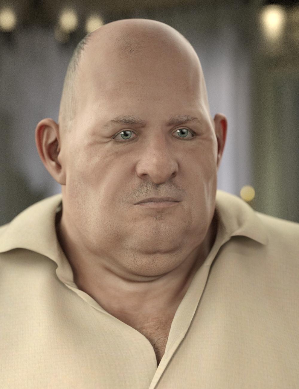 George for Genesis 8 Male by: Deepsea, 3D Models by Daz 3D