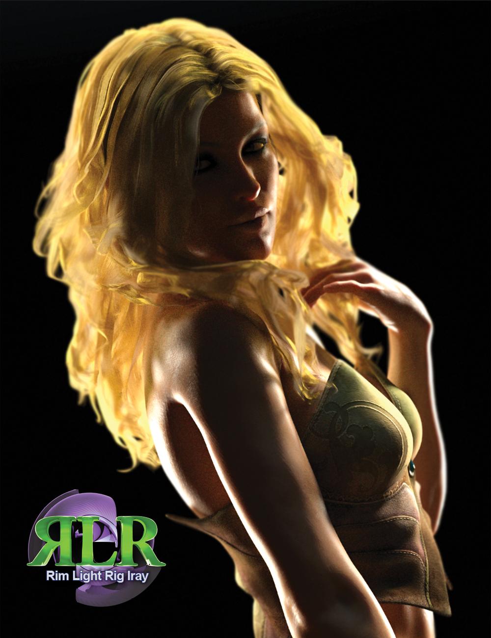 Rim Light Rig Iray by: Marshian, 3D Models by Daz 3D