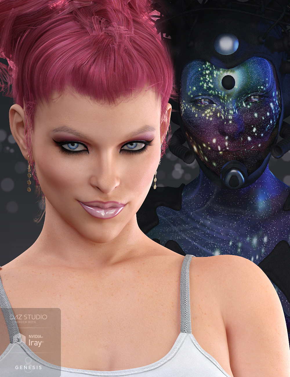 Mst Amile for Victoria 8 by: Mstene, 3D Models by Daz 3D