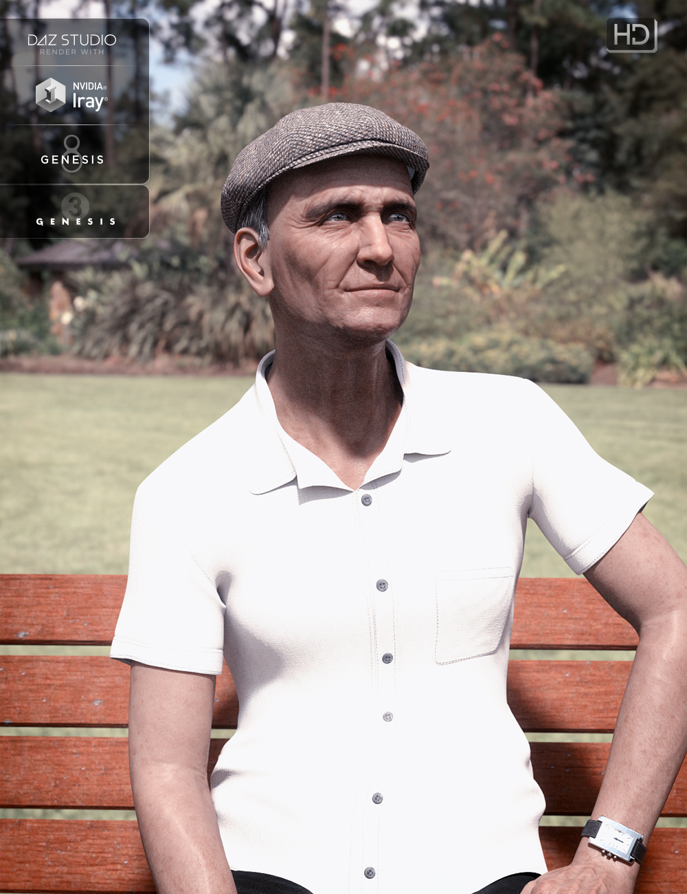 Old Chap for Genesis 3 and 8 Male by: Kayleyss, 3D Models by Daz 3D