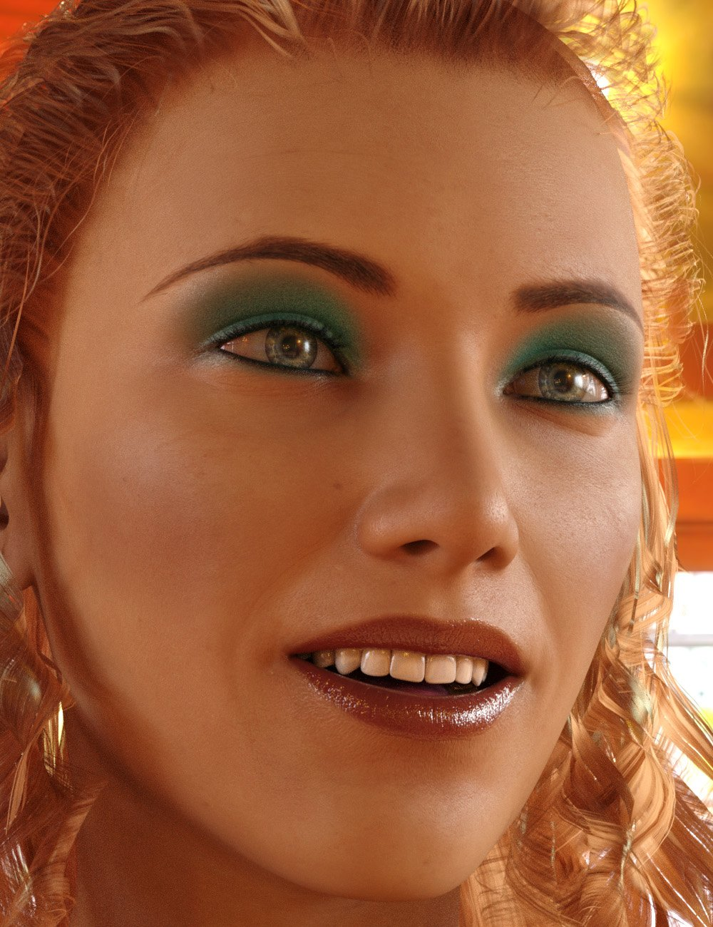 Ultimate Make-Up for Genesis 8 Female(s) by: PhilW, 3D Models by Daz 3D