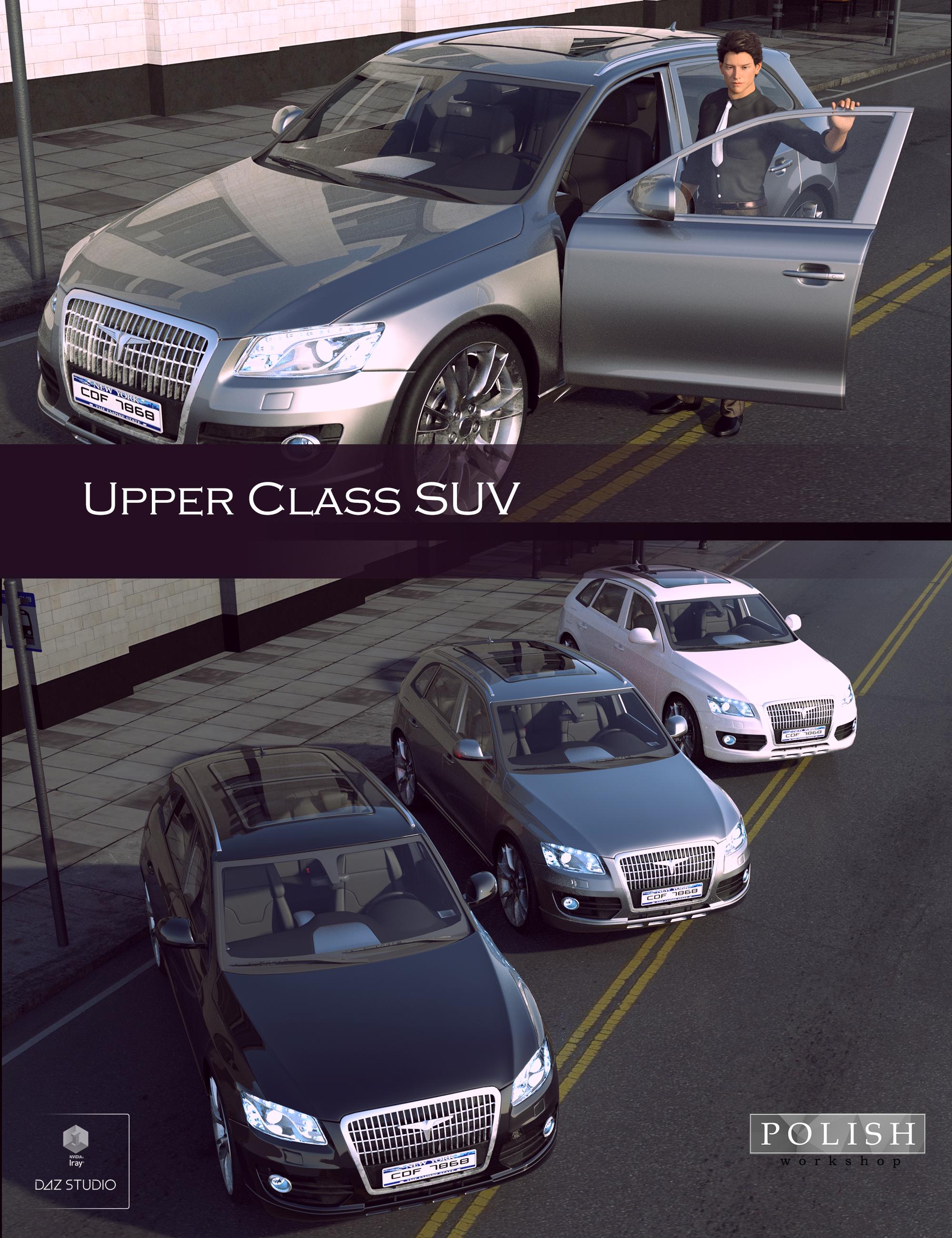 Upper Class SUV by: Polish, 3D Models by Daz 3D