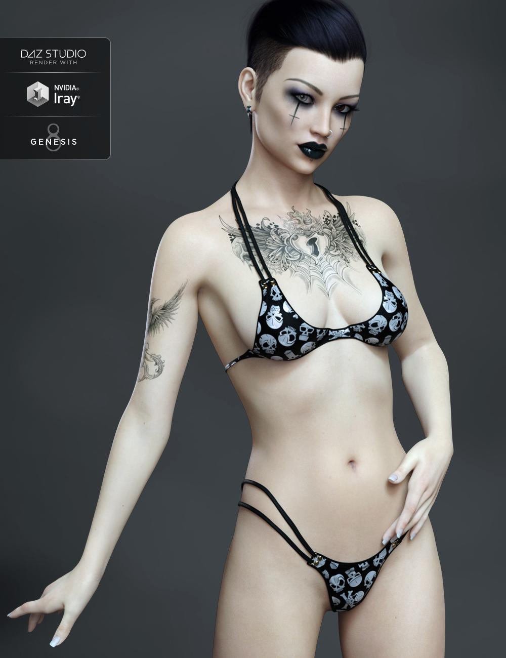 FWSA Lavana HD for Stephanie 8 by: Fred Winkler ArtSabby, 3D Models by Daz 3D