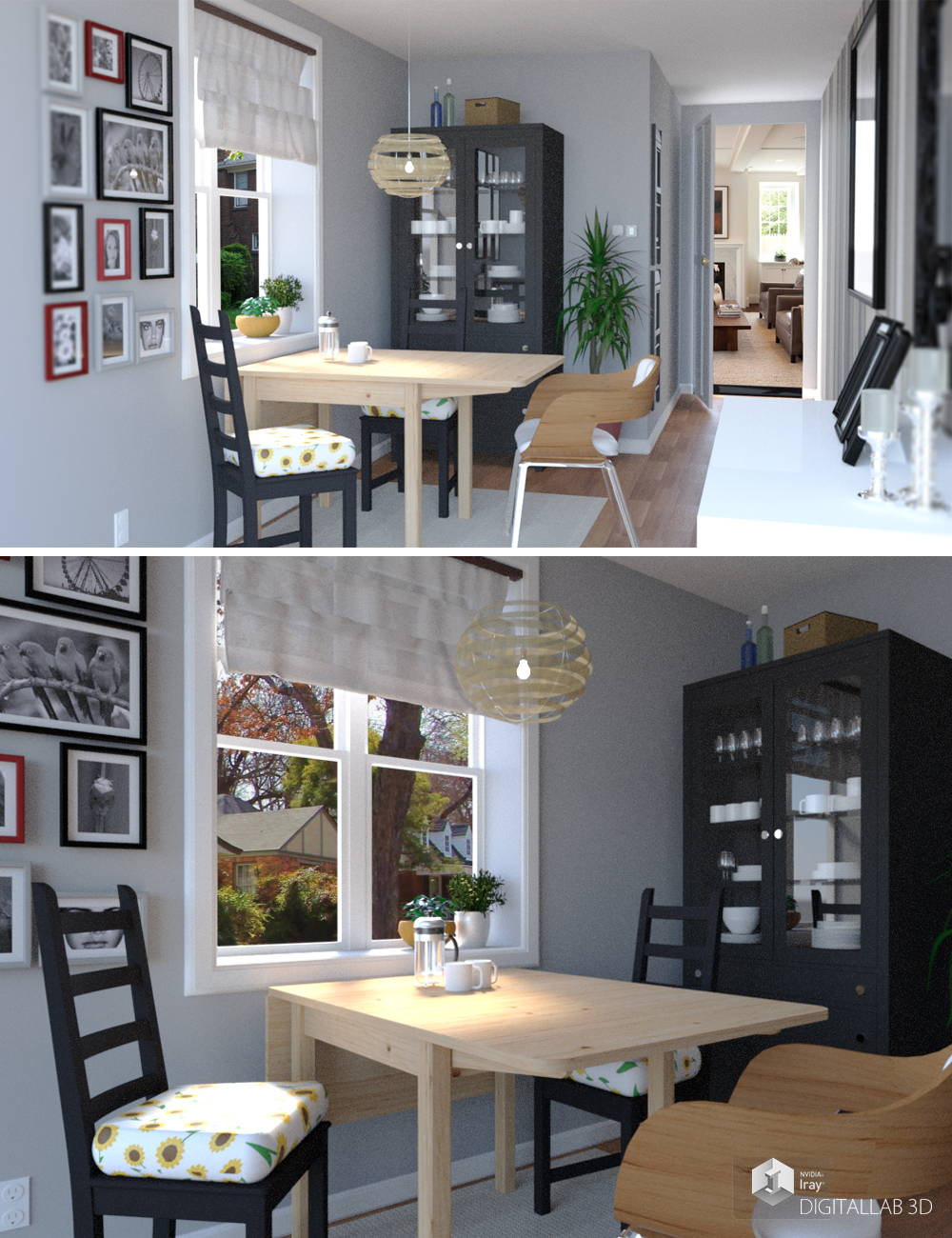Breakfast Room by: Digitallab3D, 3D Models by Daz 3D
