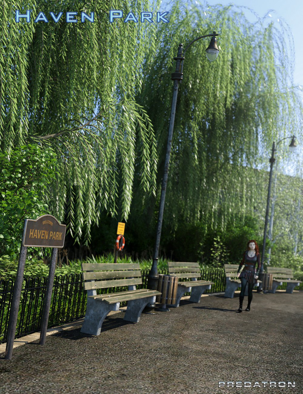 Haven Park by: Predatron, 3D Models by Daz 3D